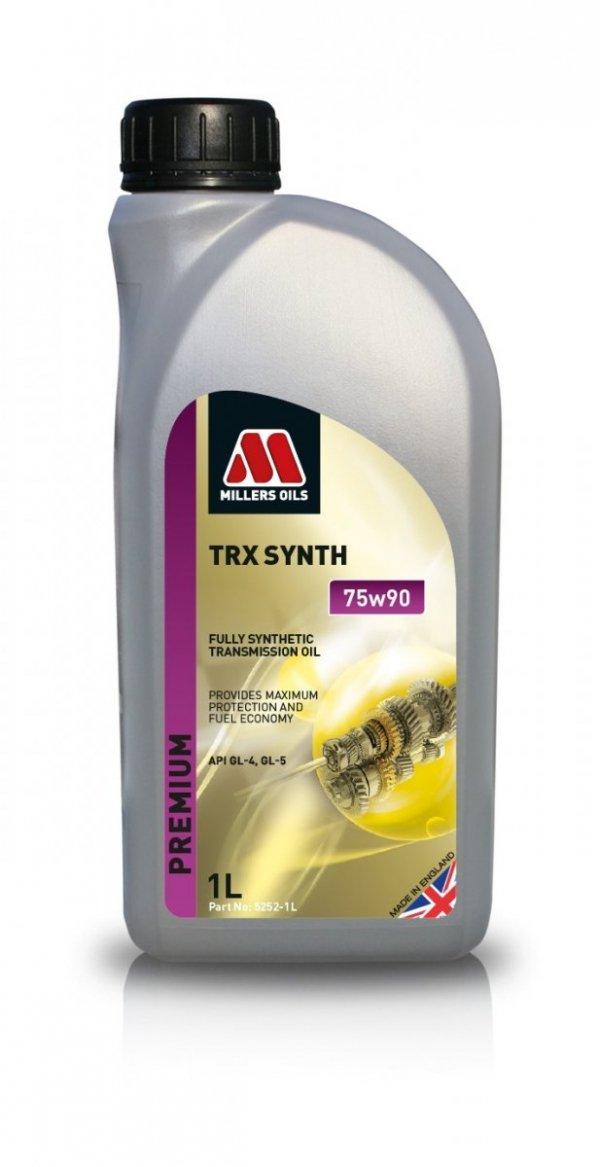 Olej przekładniowy Millers Oils TRX Synth 75W90 1l