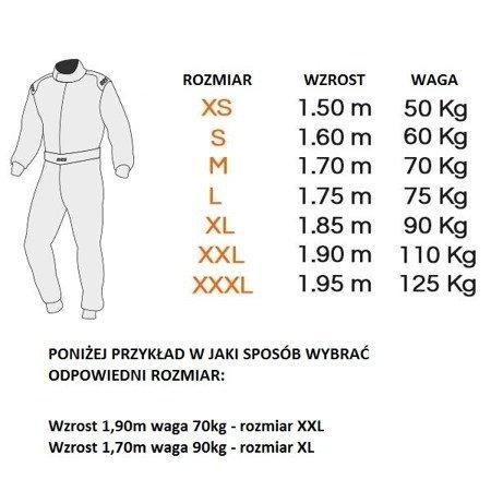 Kombinezon dla mechanika RRS