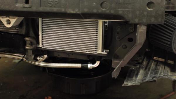 Chłodnica oleju Mishimoto z termostatem NISSAN 350Z 2003-2009 / INFINITI G35 2003-2007 (COUPE)