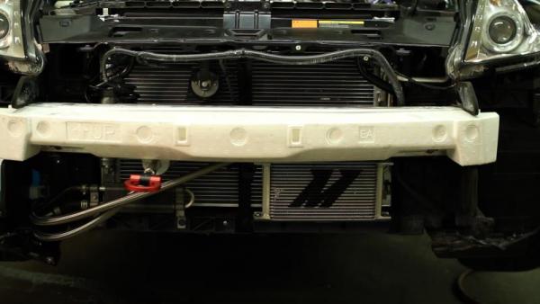 Chłodnica oleju Mishimoto z termostatem NISSAN 370Z 2009+ / INFINITI G37 2008+ (COUPE)