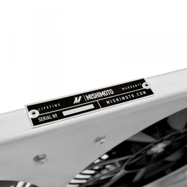 Wentylatory z aluminiową obudową Mishimoto NISSAN 240SX KA 1995-1998