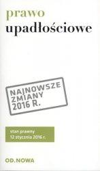 PRAWO UPADŁOŚCIOWE I NAPRAWCZE 01.2016