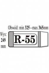 OKŁADKA IKS R-55 (50 SZTUK W PACZCE)