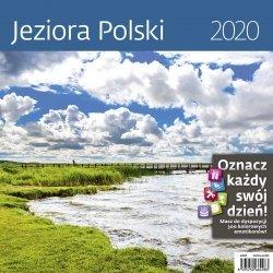 KALENDARZ 2020 JEZIORA POLSKI 30X30