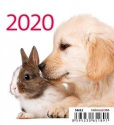 KALENDARZ 2020 BIURKOWY MINI PRZYJACIELE