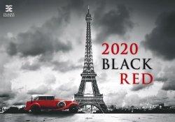 KALENDARZ 2020 BLACK RED EX