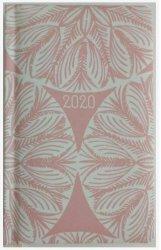 KALENDARZ 2020 PASTEL A6 ROZETA TAPETY TNS 35948