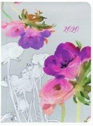 KALENDARZ 2020 FLOWER POWER B6 AKWARELA KWIATY TNS 35962