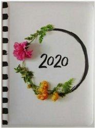 KALENDARZ 2020 FLOWER POWER B6 ZDJĘCIE KWIATÓW TNS 35960