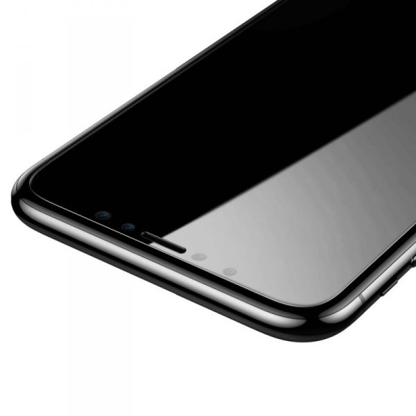 Baseus zestaw 2x szkło hartowane 0.15mm 9H iPhone 11 Pro / iPhone XS / iPhone X + pozycjoner (SGAPIPH58S-GS02)