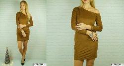 Zamszowa Sukienka By Me Camel