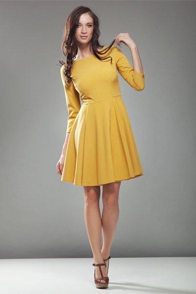 Sukienka S19 Audrey Yellow