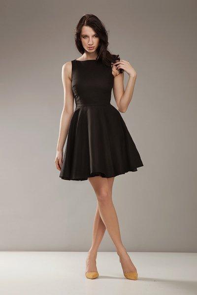 Sukienka S17 black