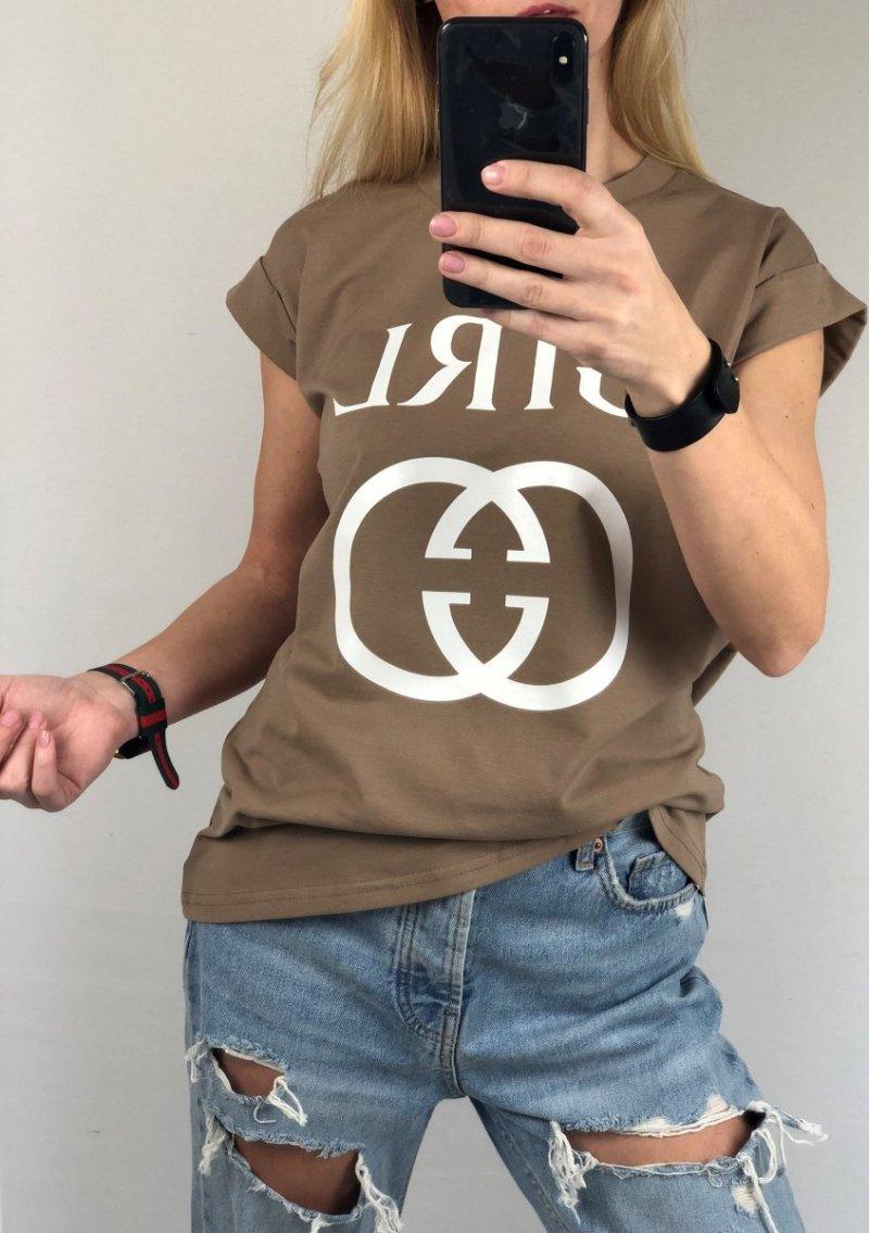 Bluzka T-shirt Bawełna Girl