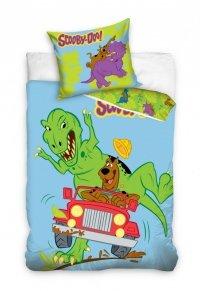 Pościel Scooby-Doo 160x200 100% bawełna Carbotex SD 8009