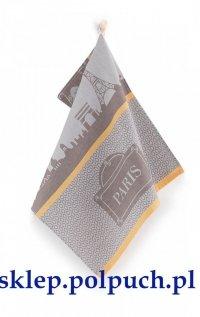 Ściereczka kuchenna Zwoltex Paris brązowa - 50x70 cm - bawełna egipska