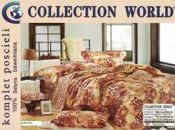 Pościel Collection World 160x200 Brązowa Panterka 100% bawełna wz 451