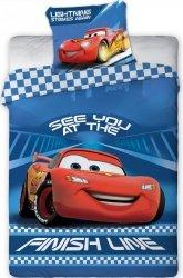 Pościel dla dzieci Disney 100x135 Cars - Samochody  100% bawełna Faro Cars 041