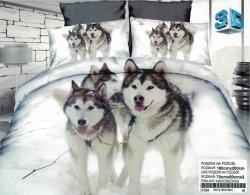 Pościel 3D Psy Husky 100% Mikrowłókno wz. Husky 01