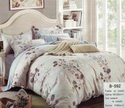 Pościel Mengtianzi Beżowa w Kwiaty 160x200 100% bawełna B-592