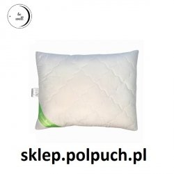 Naturalna poduszka antyalergiczna Poldaun Bamboo 50x60