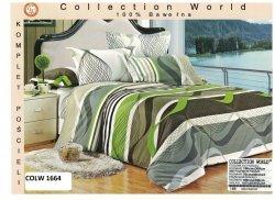 4-częściowy komplet pościeli bawełnianej w rozmiarze 160 x 200 cm firmy Collection World