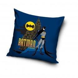 Poszewka bawełniana dla dzieci Batman 40x40 cm Carbotex 100% bawełna