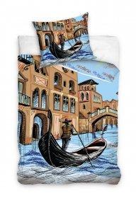 Pościel Miasto Wenecja 160x200 Carbotex 100% bawełna Venice 1001