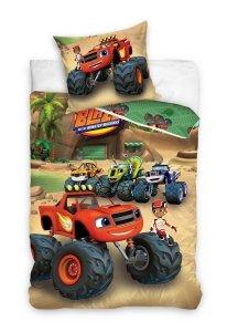Pościel dla dzieci Samochód Blaze 140x200 Carbotex 100% bawełna BMM 1002