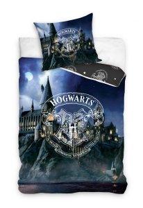 Pościel młodzieżowa Harry Potter -  Hogward  140x200 Carbotex 100% bawełna HP 201023
