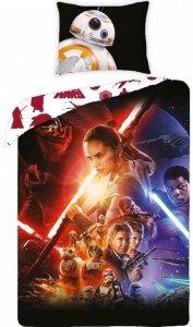 Pościel Star Wars Gwiezdne Wojny 140x200. Dwustronny komplet pościeli Star Wars 140x200 Halantex 100% bawełna wz 723