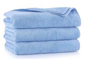 Ręcznik kąpielowy Zwoltex 50x100  KIWI 2 - Niebieski - Bawełna Egipska.