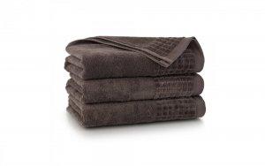 Ręcznik kąpielowy Zwoltex 70x140 Paulo 3 - Taupe- Bawełna Egipska.