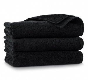 Ręcznik kąpielowy Zwoltex 70x140 KIWI 2 - Czarny - Bawełna Egipska.