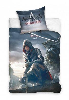 Pościel Assassin's Creed 160x200 100% bawełna Carbotex wz. ASG 161009