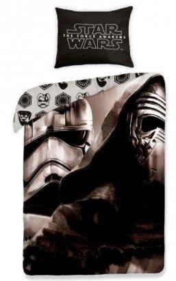 Pościel Star Wars Gwiezdne Wojny 160x200. Dwustronny komplet pościeli Star Wars 160x200 Halantex 100% bawełna wz 457