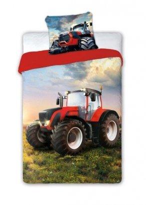 Pościel młodzieżowa Traktor - Ciągnik 160x200 Faro 100% bawełna wz Turbo 004