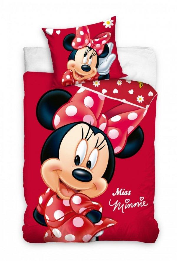 Pościel dla dziewczynki Myszka Minnie 160x200