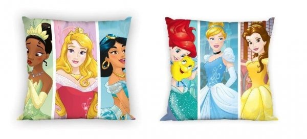 Dwustronna poszewka dla dzieci Księżniczki Disneya Faro