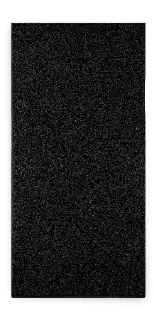 Ręcznik kąpielowy KIWI 2 Czarny - 50x100 cm