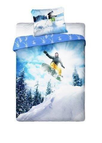 Pościel Snowboard 160x200 Młodzieżowa