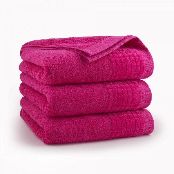 Ręcznik kąpielowy 70x140 Fuksja Paulo Zwoltex