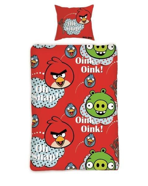 Pościel Angry Birds 160x200 Halantex 100% bawełna AB 130