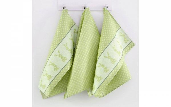 Zielone ściereczki kuchenne Zwoltex - bawełniane ściereczki kuchenne