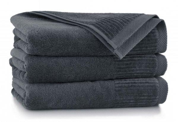Ręcznik kąpielowy 50x90 Zwoltex Lisbona - Grafit