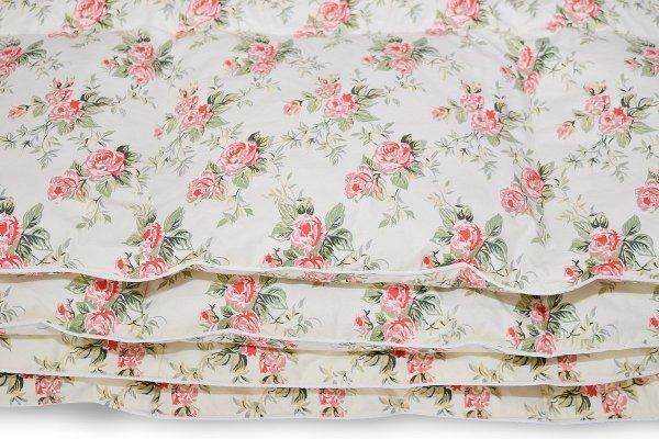 Poduszki z półpuchu 50x60 cm Ecru w różyczki