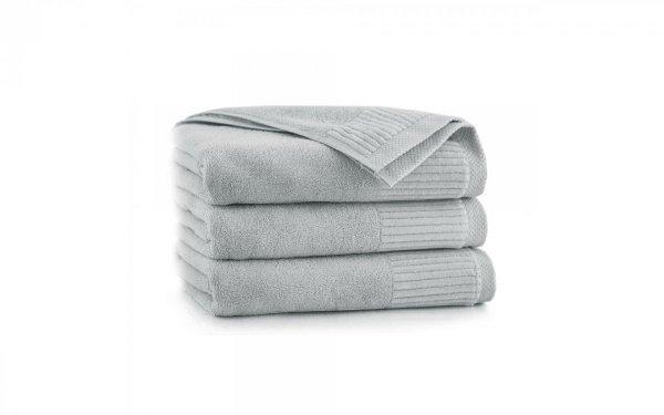Ręcznik kąpielowy 50x90 Zwoltex Lisbona - Stalowy