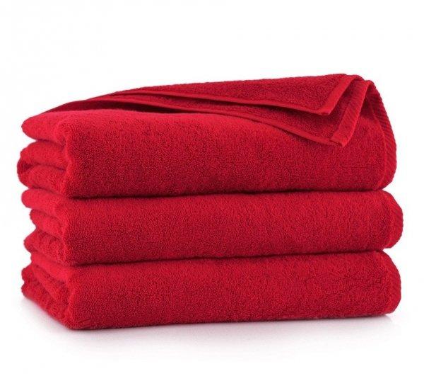 Ręcznik KIWI 50x100 Czerwony - Bawełna Egipska