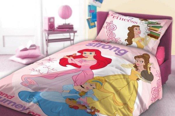 Pościel dla dziewczynki Princess Księżniczki Disneya 160x200