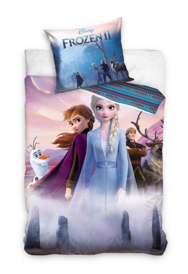 Pościel Frozen - Kraina Lodu 160x200 dla dziewczynki
